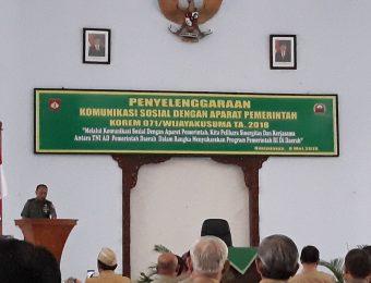 Komsos TNI dengan Aparat Pemerintah (10)