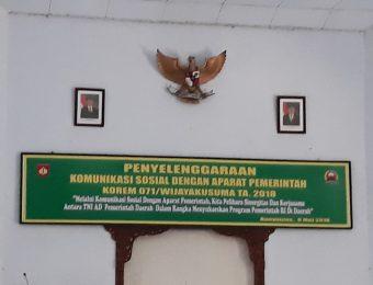 Komsos TNI dengan Aparat Pemerintah (2)