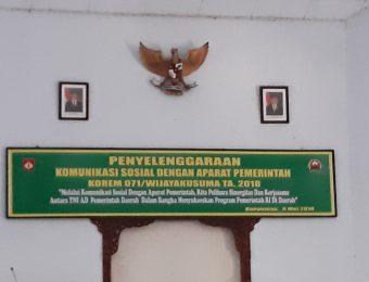 Komsos TNI dengan Aparat Pemerintah (3)