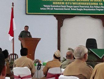 Komsos TNI dengan Aparat Pemerintah (7)