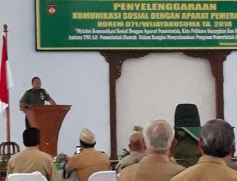 Komsos TNI dengan Aparat Pemerintah (8)