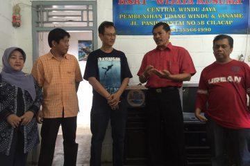 Kunjungan Dinas Perikanan Kota Tegal di HSRT Wijayakusuma (7)