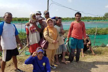 Monitoring dan Pembinaan pada Kelompok Budidaya Udang Windu Langgeng (5)