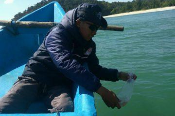 Penebaran Baby Lobster di Perbatasan Cilacap dan Pengandaran (13)