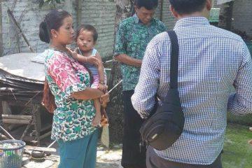 Peninjauan Lokasi Sidat Di Bp. Margono Kawunganten