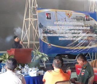 Silaturahmi & Sosialisasi Keamanan, Keselamatan Alur Pelayaran di Perairan Laut Cilacap (39)